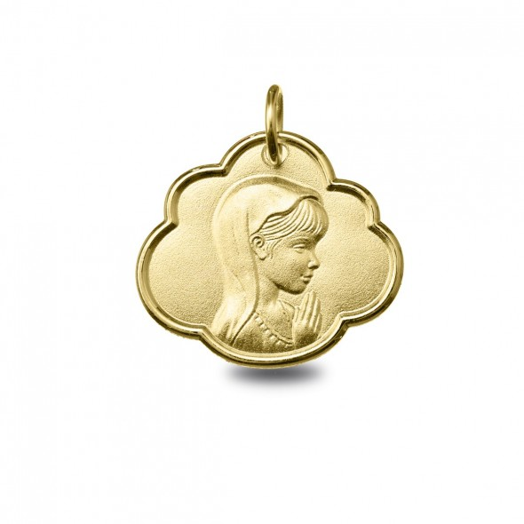 Medalla Virgen Ni ORO 750/000 (18K)