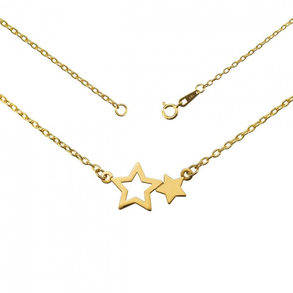 Colgante oro amarillo Estrellas ORO 750/000 (18K)